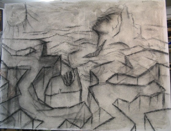 Livia Alessandrini - EUROPA (first sketch, work in progress)