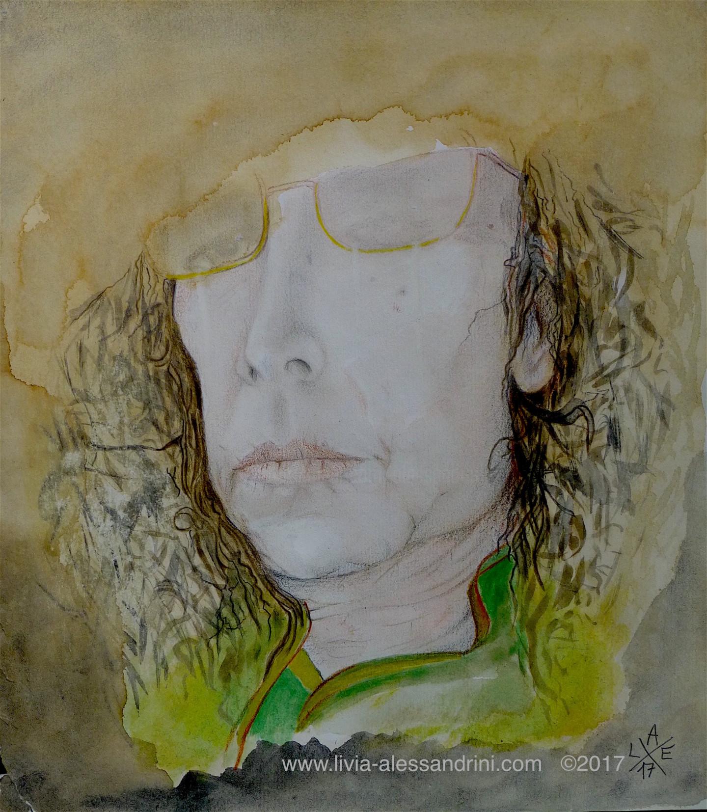 Livia Alessandrini - Autoportrait, les racines des vertiges