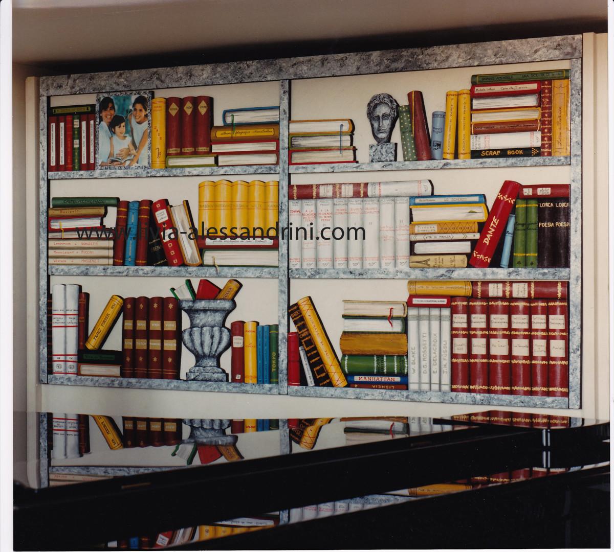 Livia Alessandrini - Bibliotheca sur commande