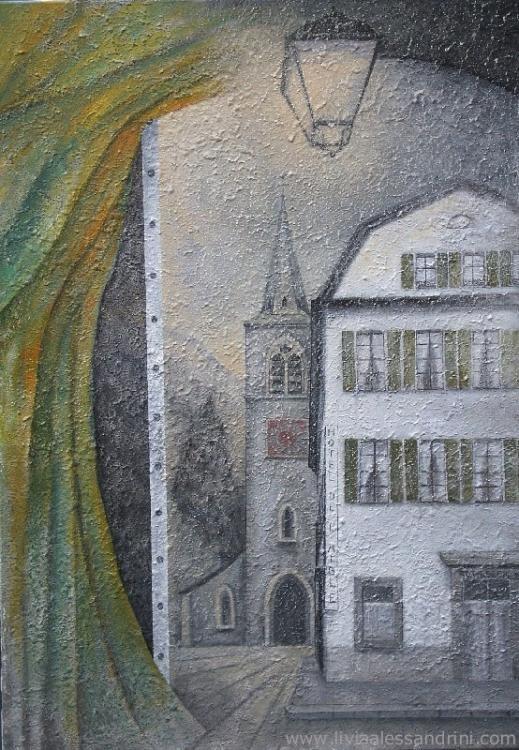 Livia Alessandrini - OUVERTURE - (L' Hôtel de l'Aigle à Villeneuve)