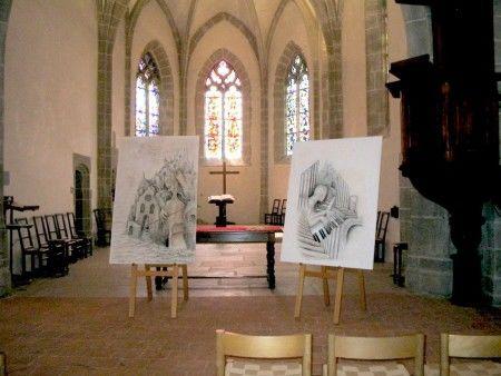Melodies de silence et de sable - MIREILLE  SCHNORF-Montreux2004