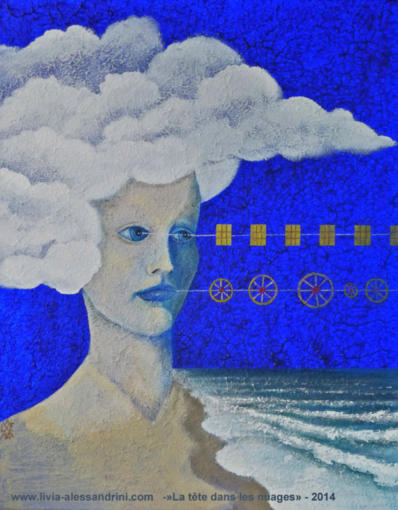 Livia Alessandrini - LA TÊTE DANS LES NUAGES I - (Madre, siamo acqua)